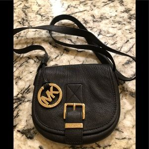 Black MICHAEL KORS crossbody shoulder bag